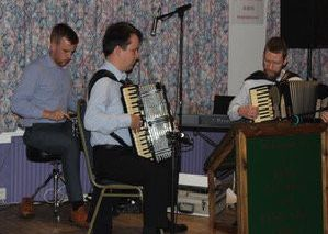 Nicky McMichan trio opens Kelso Accordion & Fiddle Club's new season.