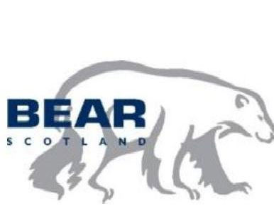 The work will be carried out by BEAR Scotland