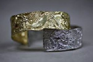 Malcolm Appleby has been engraving the bangle for more than 40 years