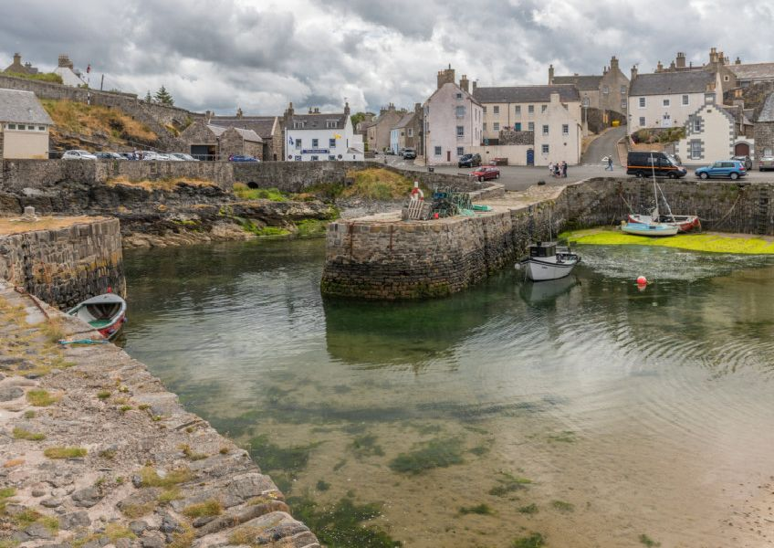The pretty 17th Century harbour town of Portsoy in Aberdeenshire is among places recommended by readers to visit. PIC: Markus Trienke/Flickr.