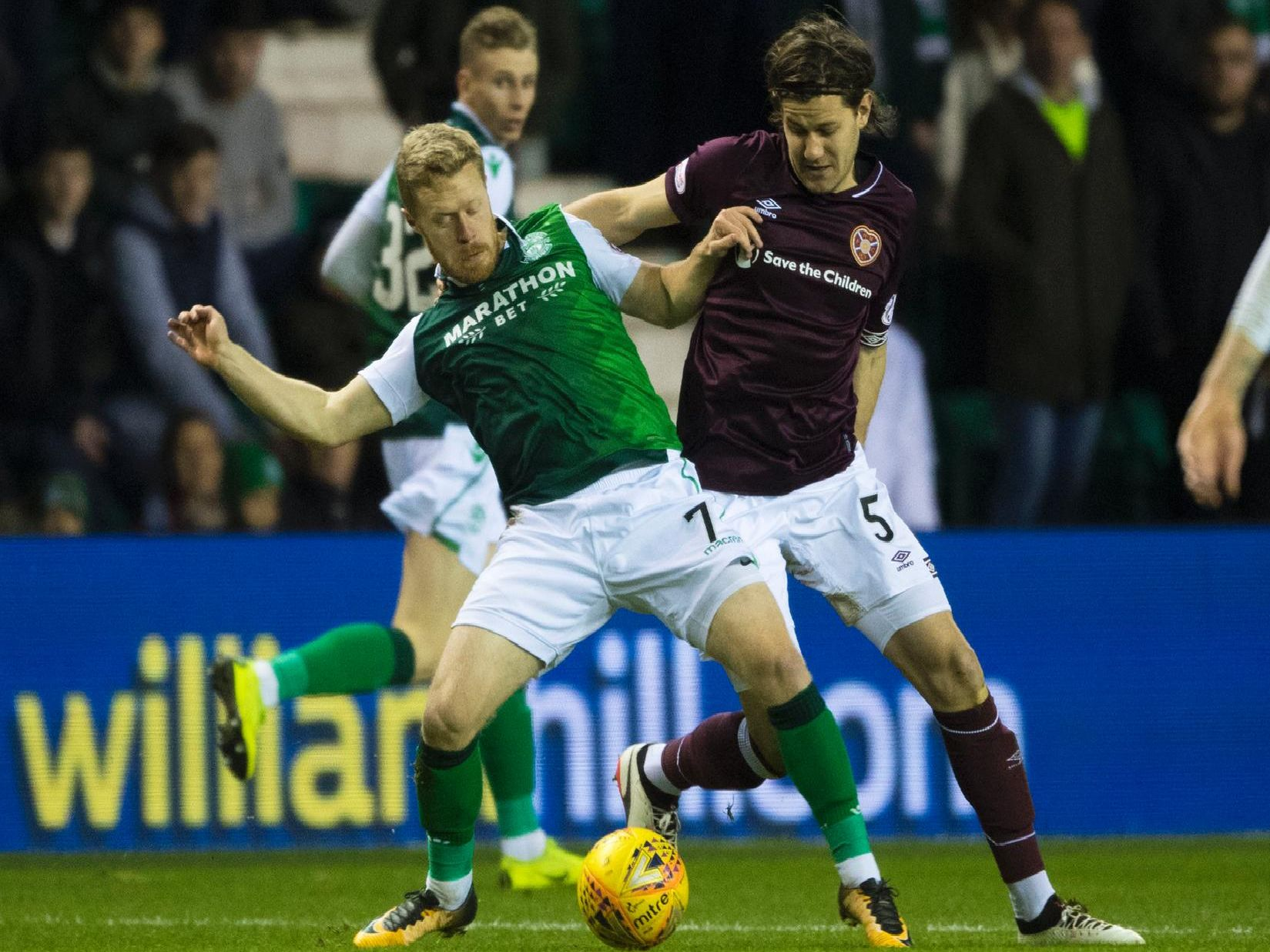 Hearts and Hibs have had mixed fortunes on the road this season.