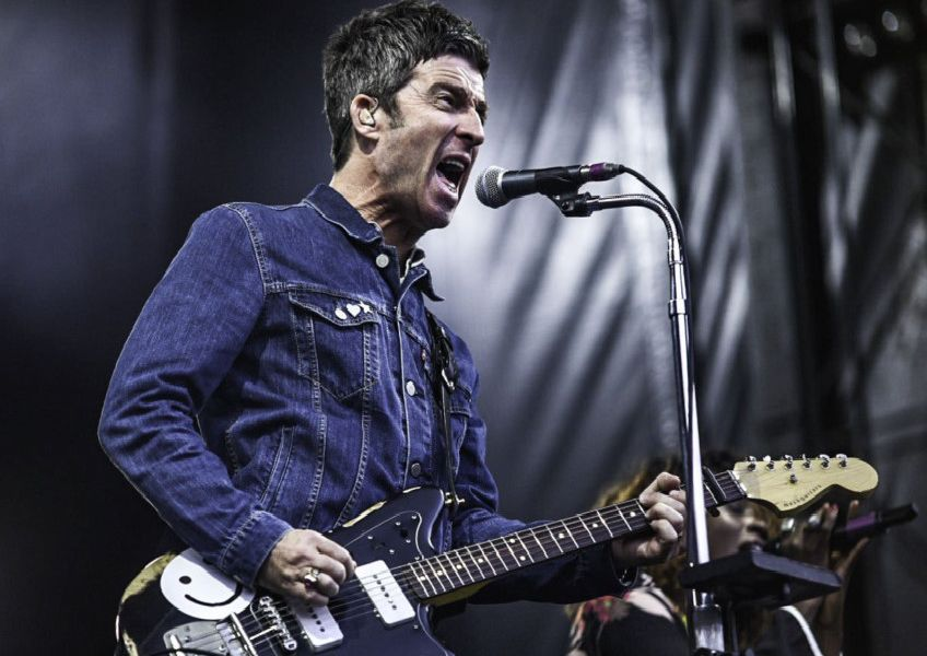 Noel Gallagher's High Flying Birds performing at Edinburgh Castle in July 2018. Pic: Calum Buchan Photography