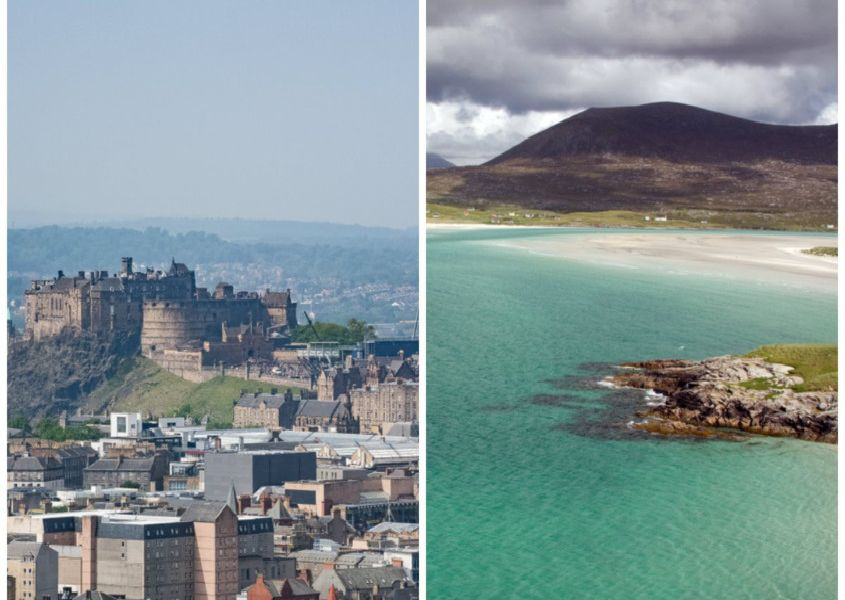These are the Scottish regions with the highest and lowest average weekly earnings