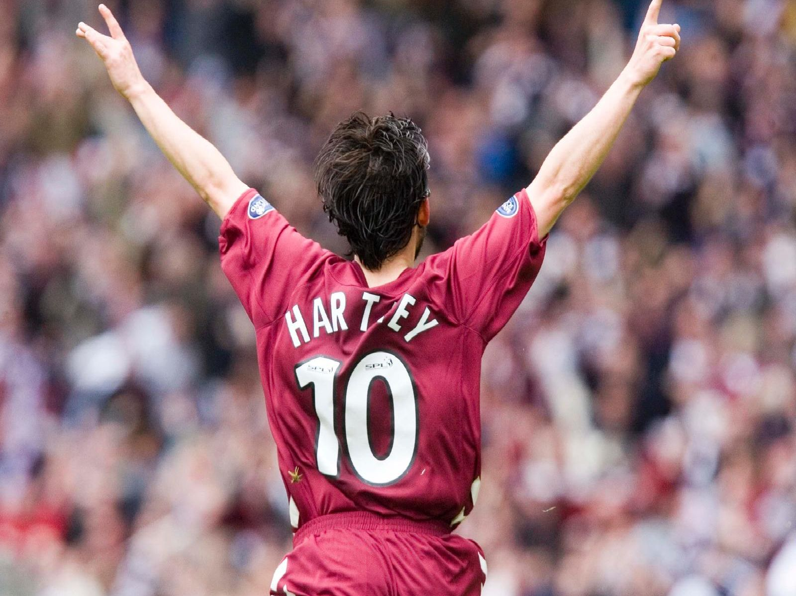 Since the 2005/06 season no Hearts player has scored more goals against Hibs than Paul Hartley