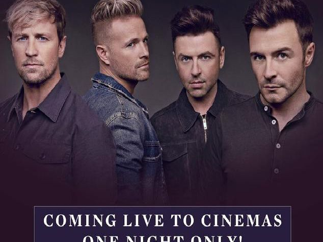 The final Westlife show will be shown live at six Edinburgh cinemas