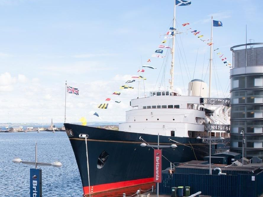The Royal Yacht Britannia is featured highly on the Lonely Planet list of top experiences in Edinburgh.