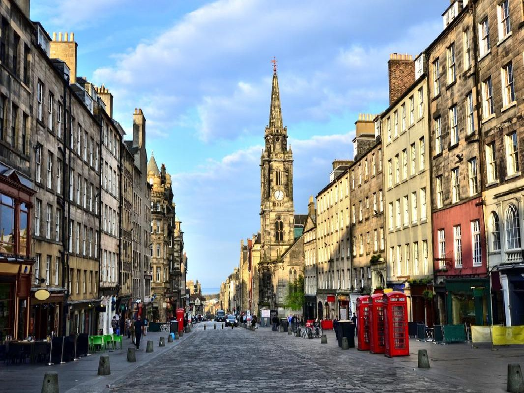 The streets of Edinburgh's Old Town will be open to pedestrians and cyclists as part of the Open Streets initiative (Photo: Shutterstock)