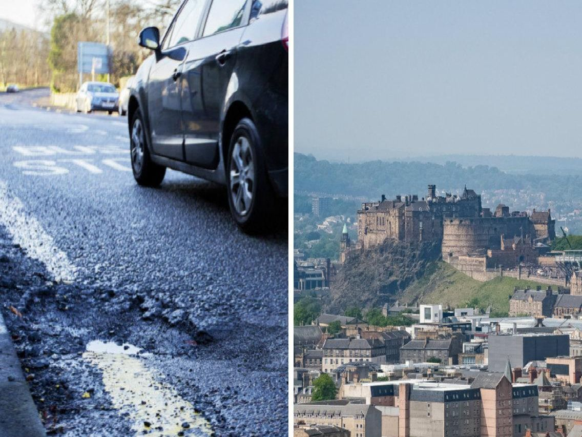Satisfaction with road maintenance has fallen across the Capital, according to the latest Edinburgh People's Survey.