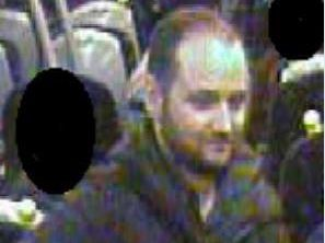British Transport Police want to speak to this man as part of their inquiries. Pic: British Transport Police