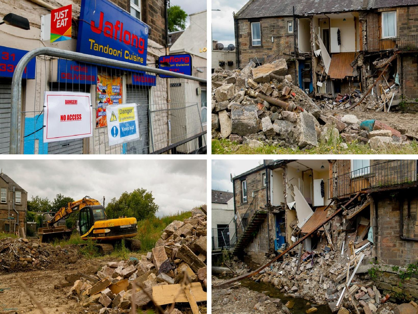 The scale of the destruction has left families out of work and homes