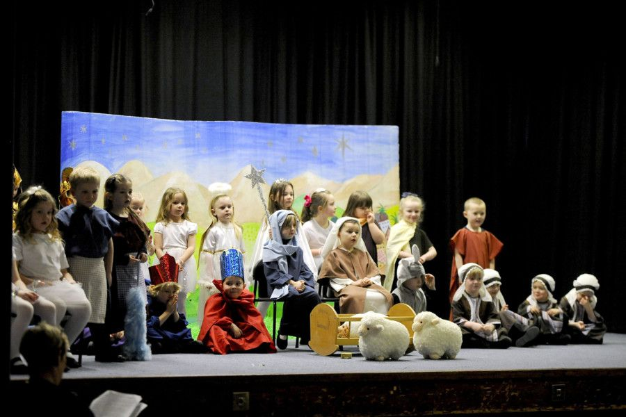 Shieldhill Primary School nativity play.