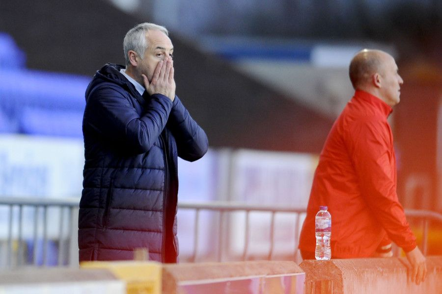 Ray McKinnon hasn't liked what he's seen. Picture Michael Gillen.