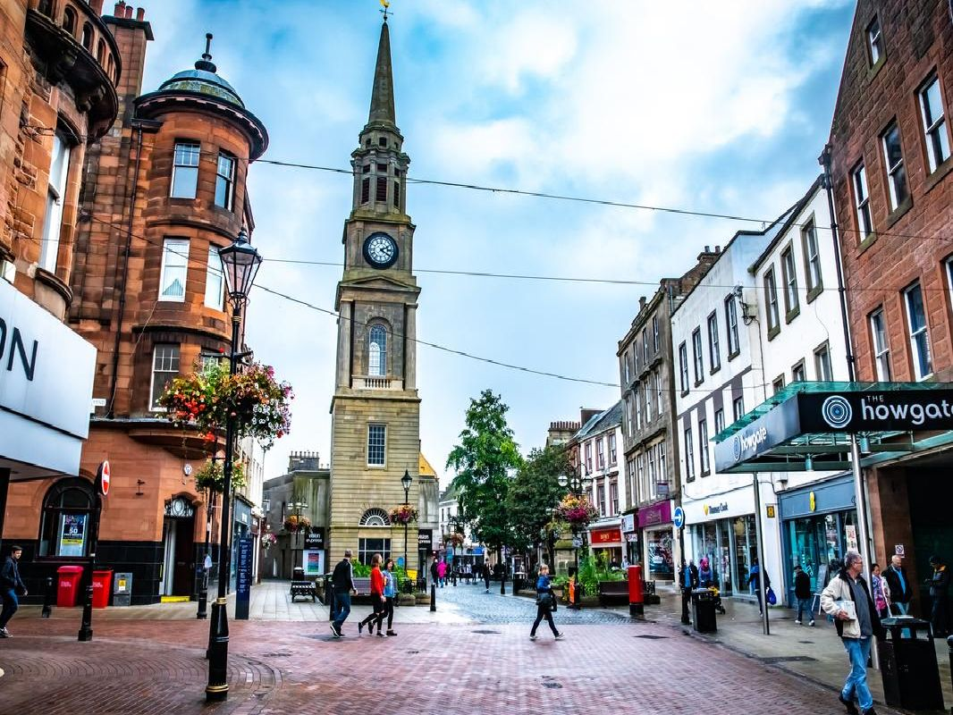 Falkirk and its surrounding areas are fantastic places to buy property