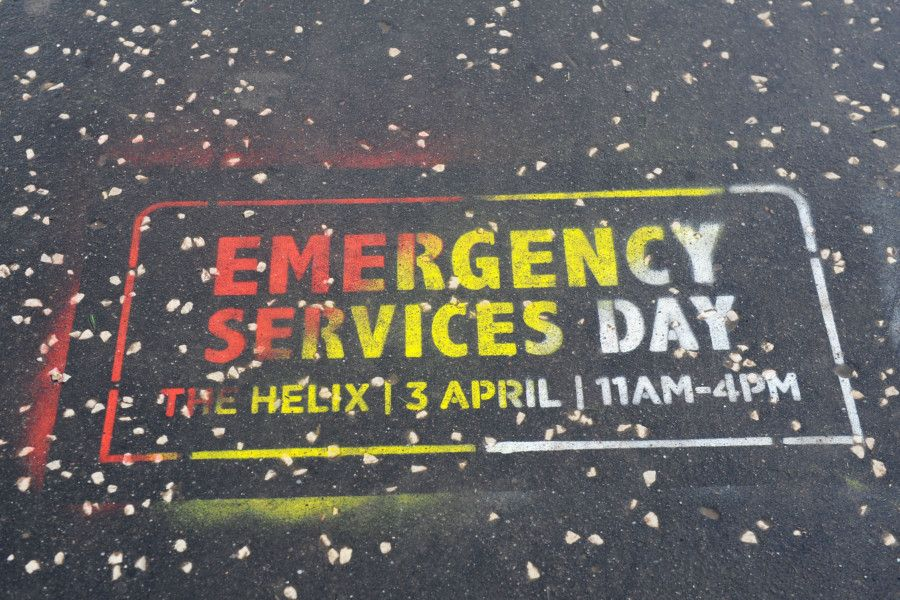 Helix Park Emergency Services Day on April 3, 2019. Pictures by Michael Gillen.