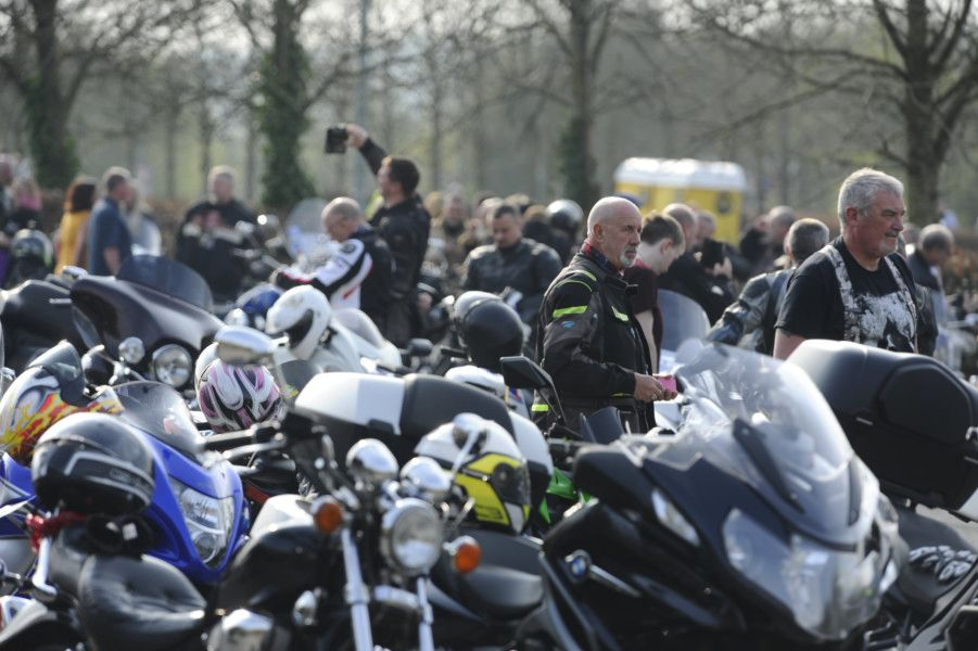 Carron Valley Motorcycle Club Easter egg run to Rachel House on Sunday, April 21, 2019. Pictures by Alan Murray.