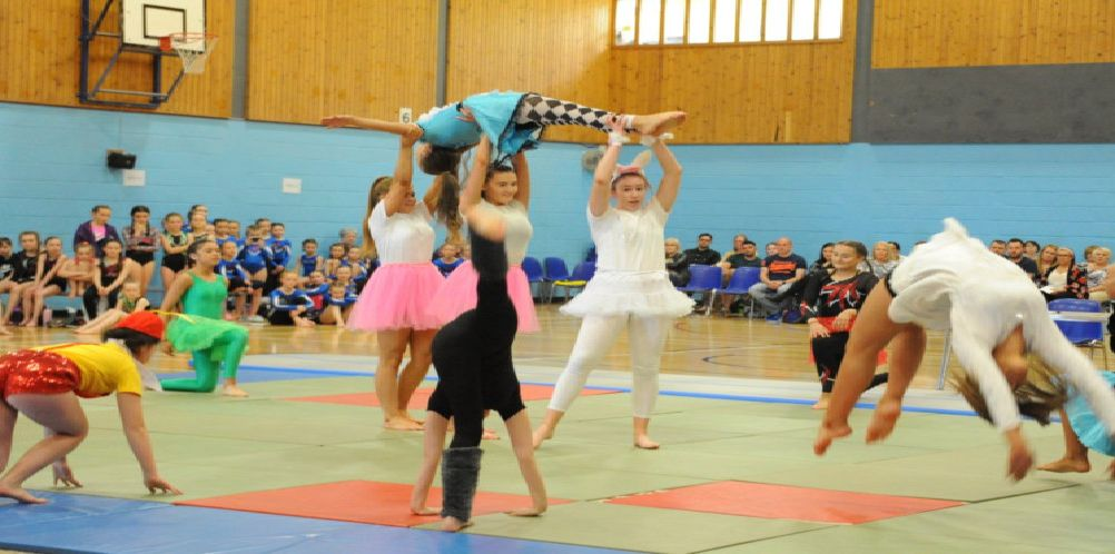 Falkirk School of Gymnastics 33rd annual competition - 2019