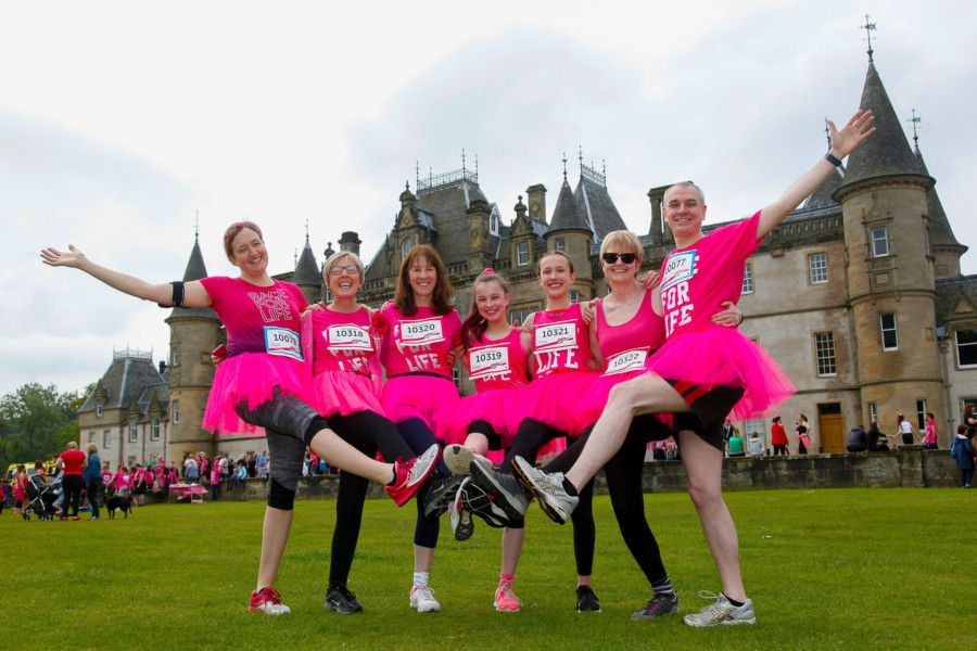 Race For Life in aid of Cancer Research at Callander Park, Falkirk on Sunday, June 23. Pictures by Scott Louden.