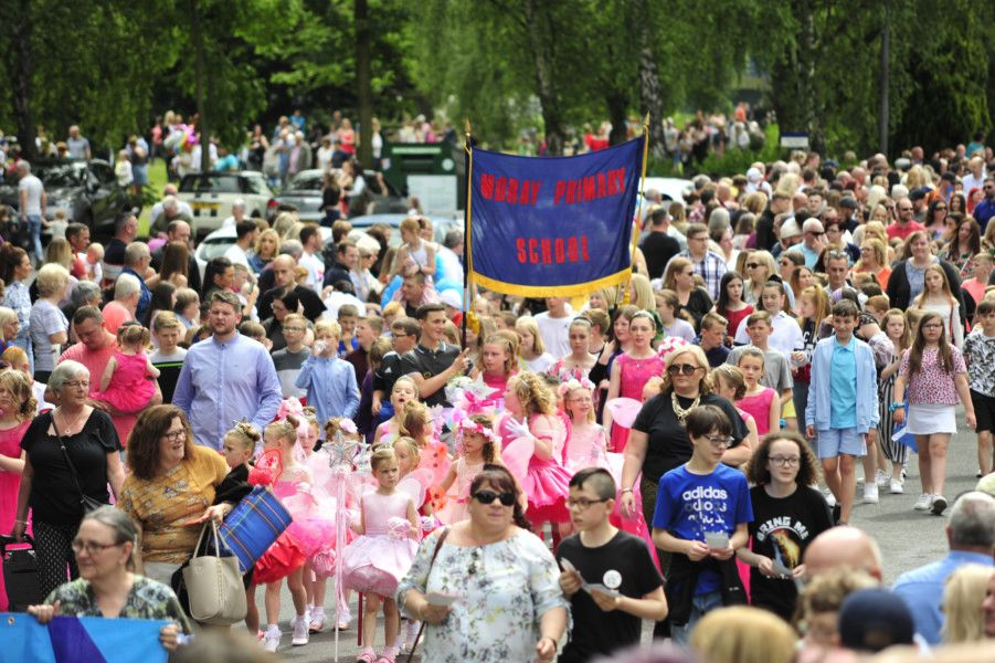 Grangemouth Children's Day 2019 in Zetland Park. Pictures by Alan Murray.