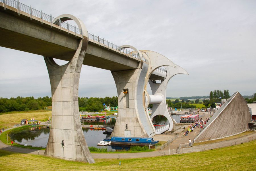Revolution Festival at Falkirk Wheel on Saturday, June 29. Pictures by Scott Louden