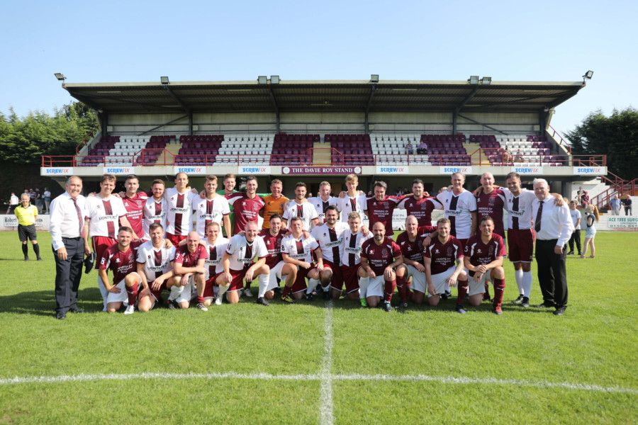 Linlithgow Rose testimonial for Tommy Coyne on Sunday, August 25. Picture by Jamie Forbes.