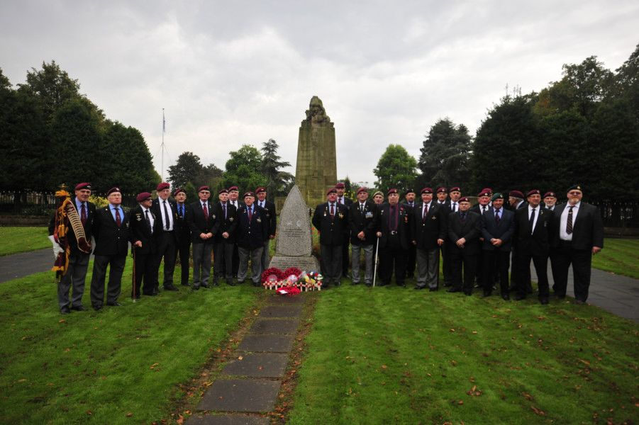 TA Memorial Service in Zetland Park, Grangemouth on Sunday, September 25. Picture by Alan Muray.