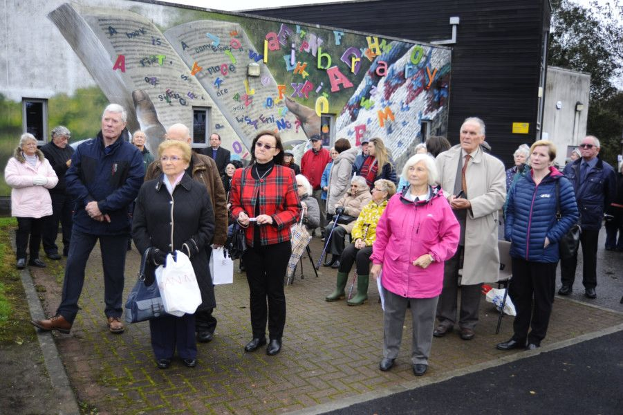 Bonnybridge and District Heritage Park opening. Picture by Alan Murray