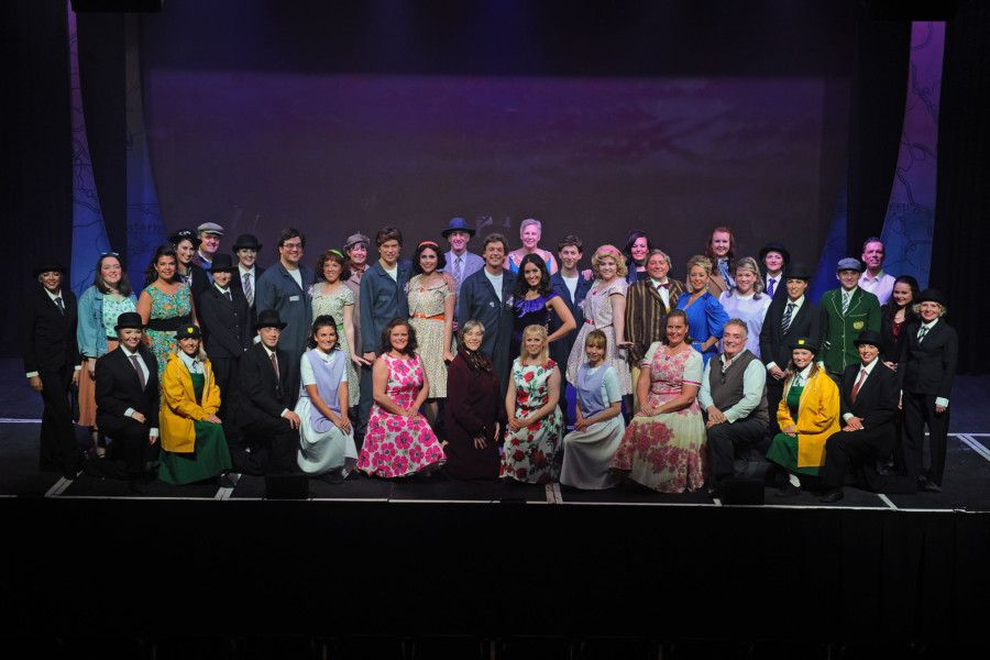 Falkirk Bohemians' production of Summer Holiday at Falkirk Town Hall. Picture by Michael Gillen.