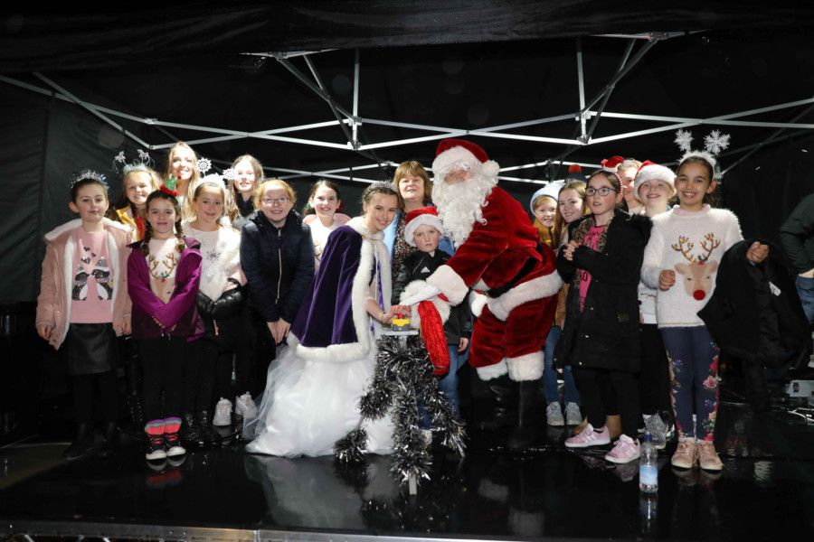 Christmas lights switch-on in Bo'ness on Saturday, November 23. Picture by Jamie Forbes.