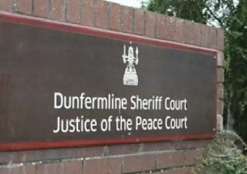 Robert Pearson appeared at Dunfermline Sheriff Court.