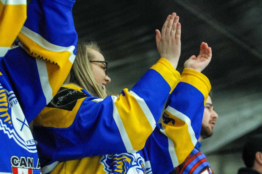 Fife Flyers - rinkside scenes in 80th anniversary season (Pic: Jillian McFarlane)