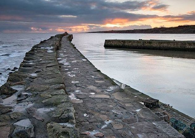 St Andrews Harbour. Pic: Colin Nicol