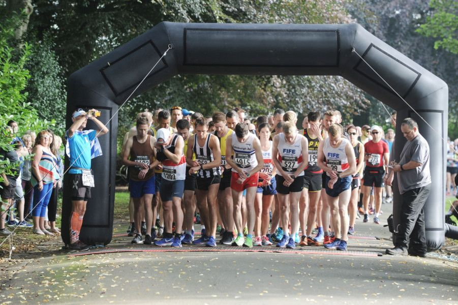 Kirkcaldy Parks Half Marathon on Sunday, August 25. Picture by George McLuskie.
