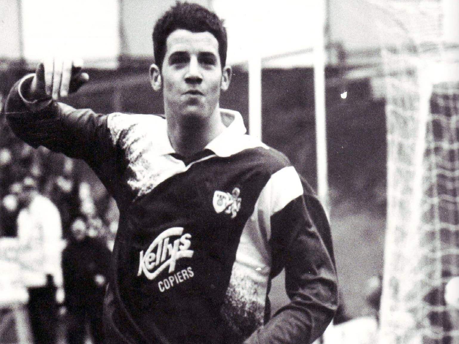 International striker started his career with Raith and managed the Bayview club.