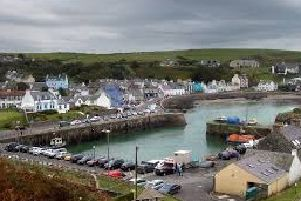 Portpatrick harbour. Photo by Louise Kerr