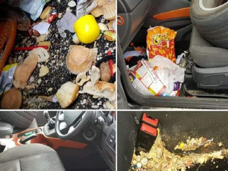 16 of Britain's messiest cars