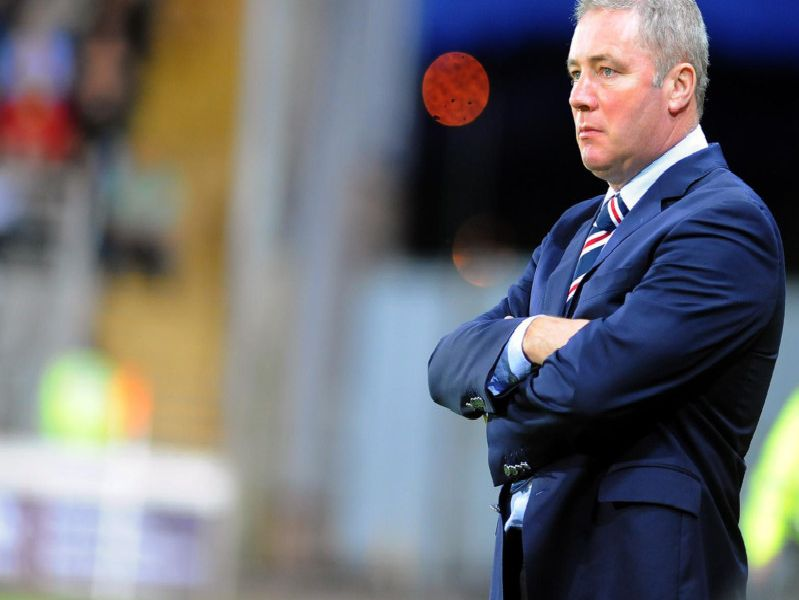 Ally McCoist's Rangers were held 1-1 by Stranraer on Boxing Day 2013.