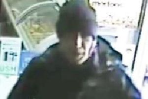 Police release images of man over assault and robbery at a Bearsden post office