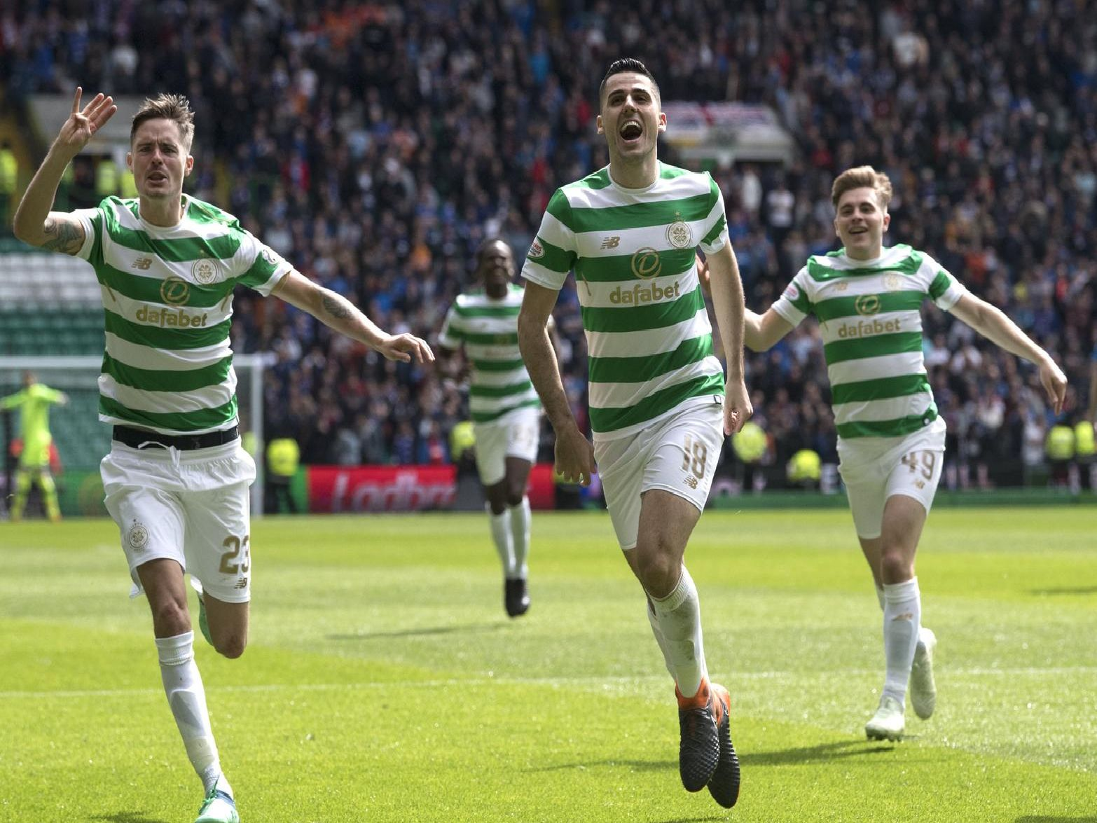 Celtic are top of standings
