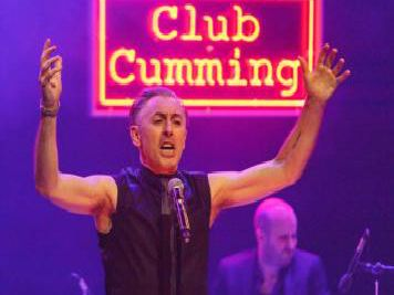 Alan Cumming will be hosting a masterclass in Glasgow this month.