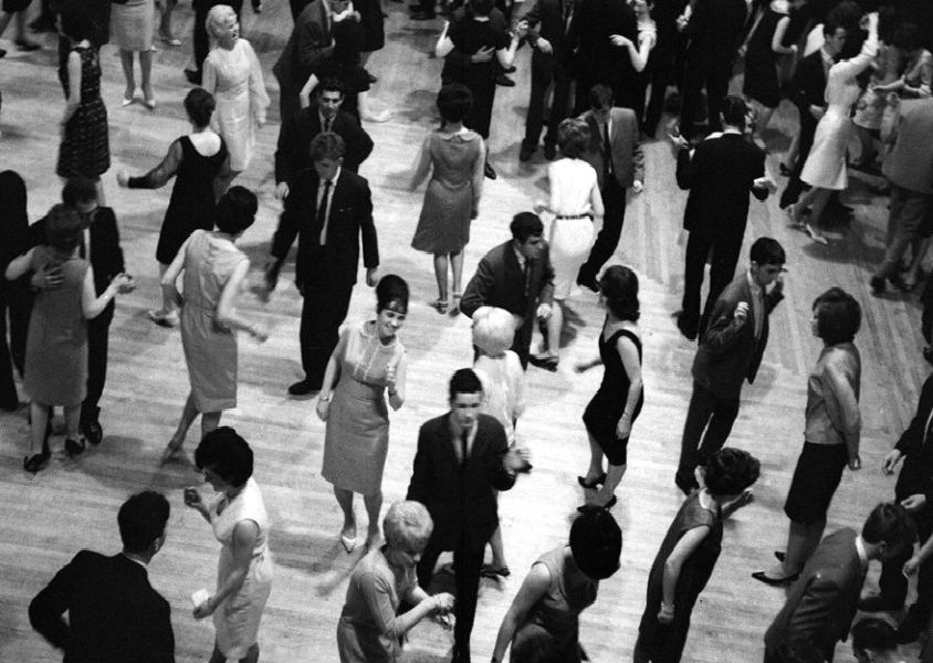 Dancing at Locarno in Glasgow in 1964. Photo: TSPL
