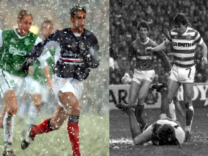 Hibs do battle with Dundee and an Old Firm Derby in the snow