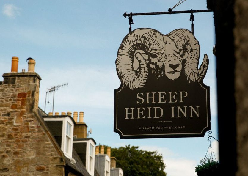 GV of The Sheep Heid Inn, situated in Duddingston Village,  where The Queen had dinner in early July 2016. pic taken 12/7/16