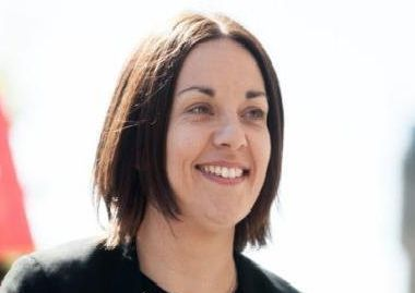 Former Scottish Labour leader Kezia Dugdale