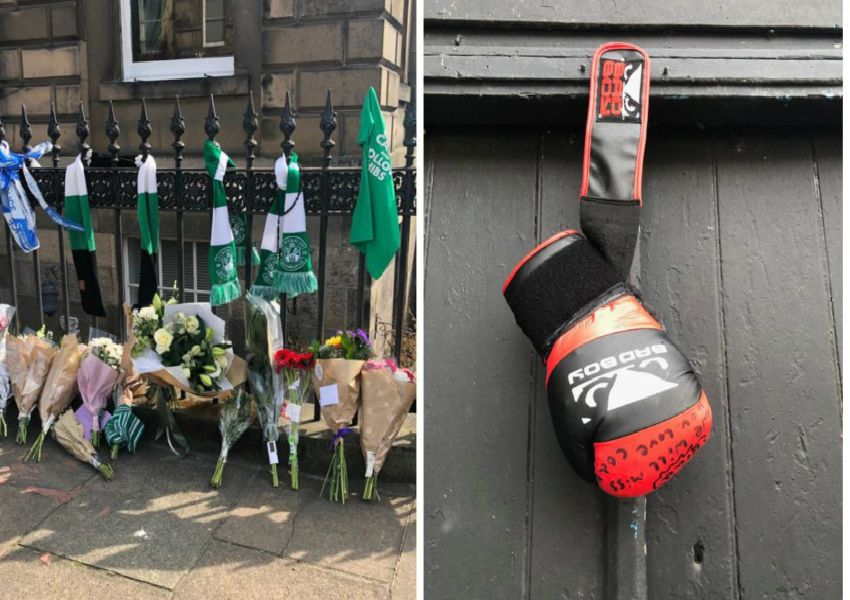 Bradley Welsh murder: Tributes to Edinburgh boxer and Trainspotting 2 star - in pictures