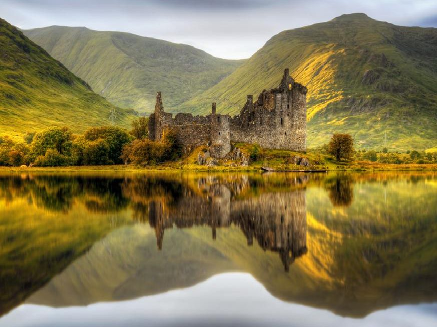 While Kilchurn Castle may not be up for sale, Scotland has many other castles up for grabs