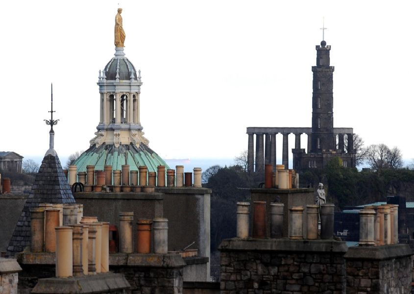 Many of the top 20 have connections to Edinburgh