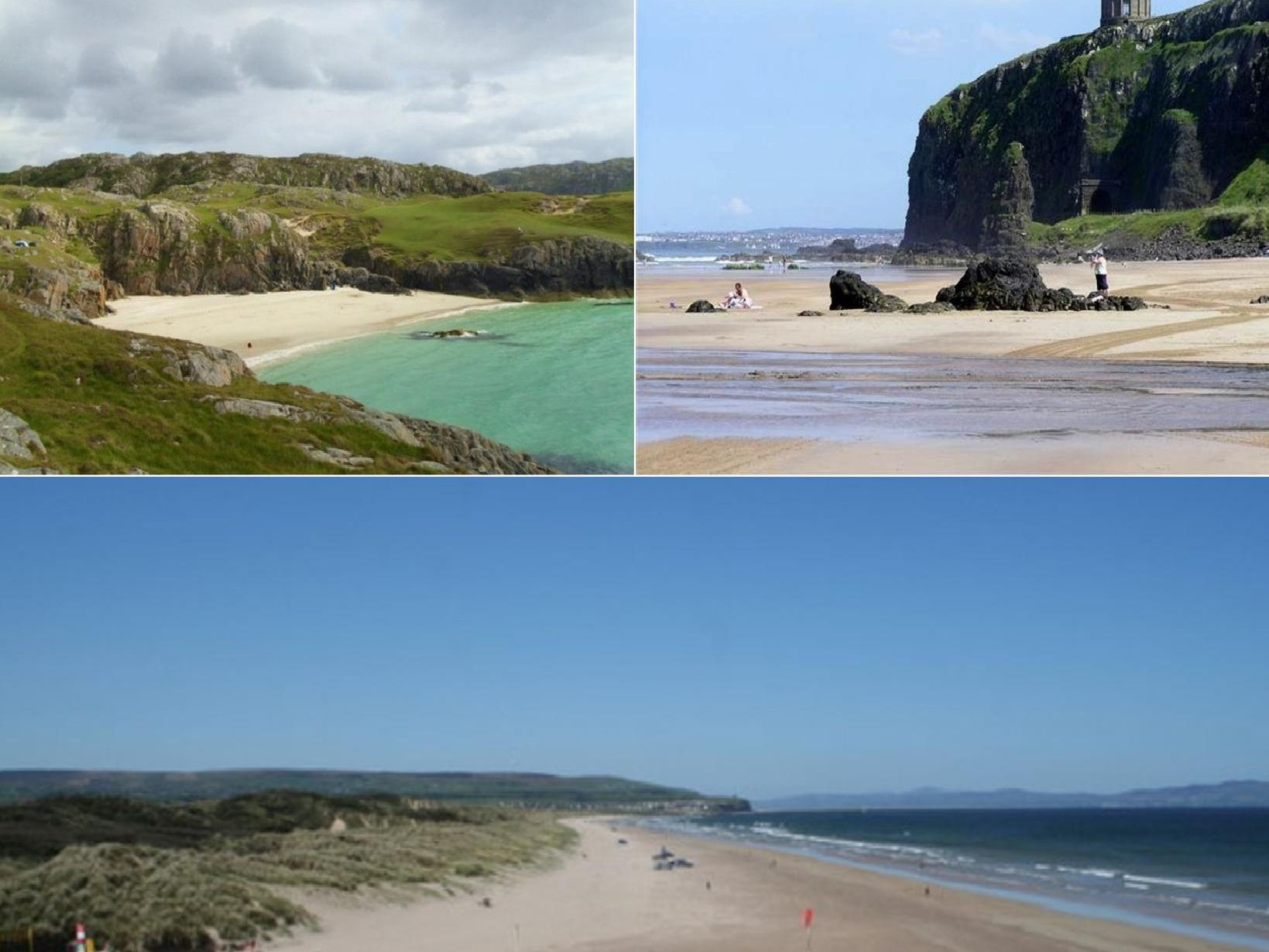 These are the beaches in Scotland and Northern Ireland that have been awarded Blue Flags