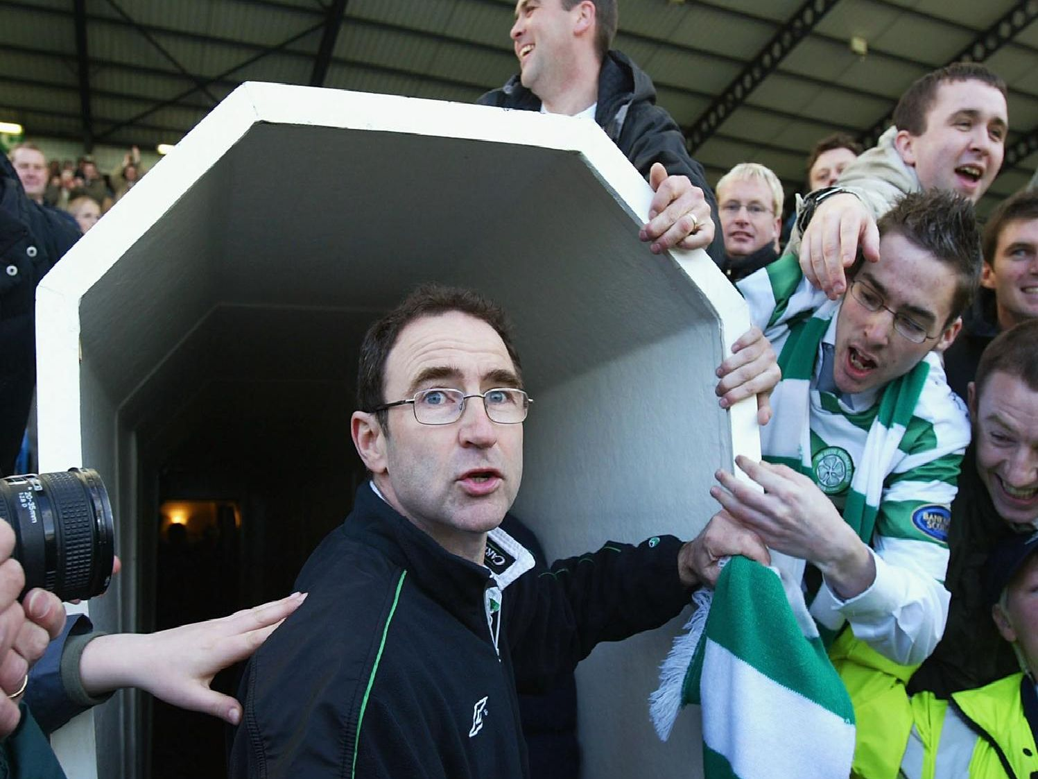 Where does ex-Celtic manager Martin O'Neill rank?