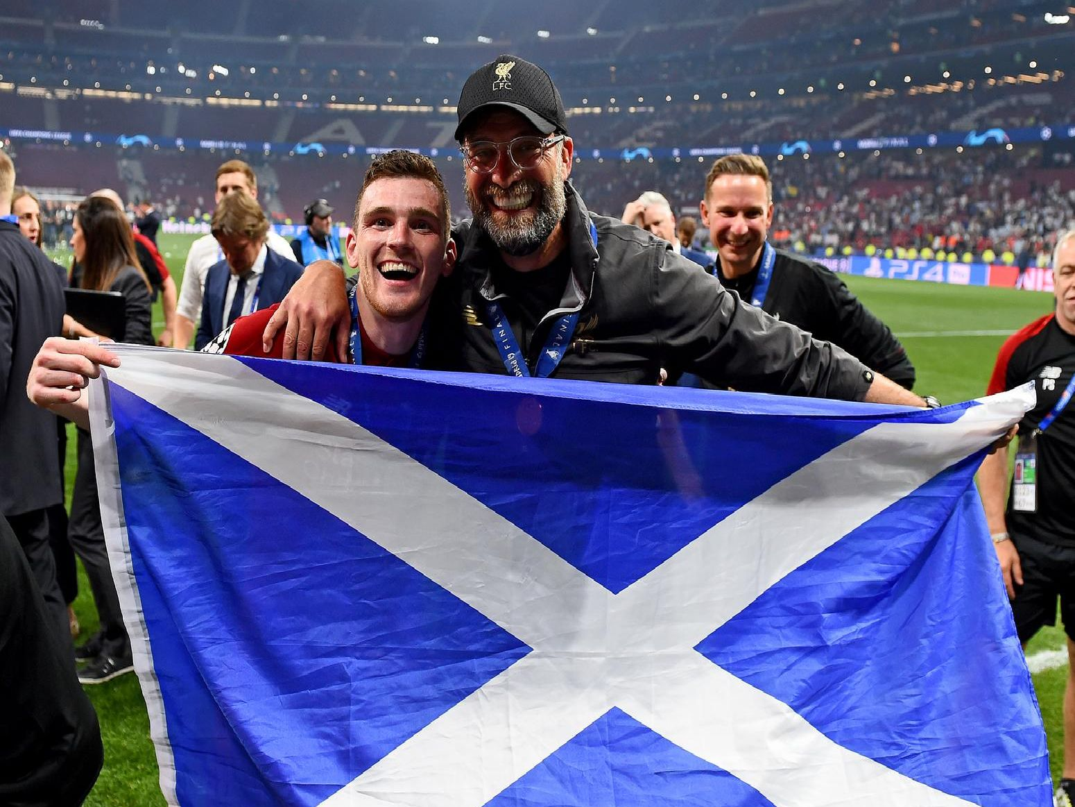 The 16 Champions League winners who've played in Scottish football