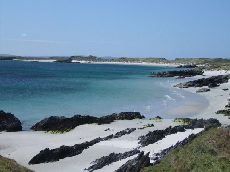 The beautiful island of Colonsay.